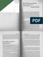 Marek-Editors on Editing-How Book Are Chosen