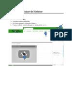 Pasos Para Participar De un Webinar en EnRedes