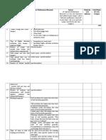 Tabel Rekomendasi Kuesioner Green Metric UI