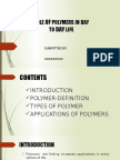 Role of Polymers