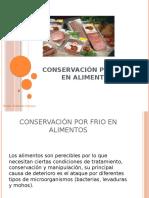 Conservación Por Frío en Alimentos 2016