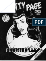 Betty Page - Fethish Comix