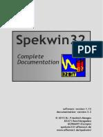 Spekwin32 Manual Grey 3 2