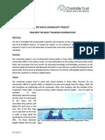GVI Pez Maya Monthly Achievement Report July 2016
