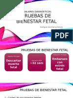 Pruebas Bienestar Fetal Final