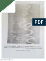 Documento de La Habana Ambientalismo Para La Paz