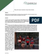 GVI Playa Del Carmen Monthly Achievement Report July 2016