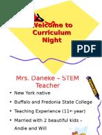 curriculum night 2015-2016 revised by alvarez