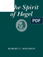 SOLOMON, Robert. In the Spirit of Hegel.pdf