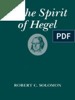 SOLOMON, Robert. In the Spirit of Hegel.pdf