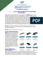 Primatics Nano Precision Stages New Product Press Release
