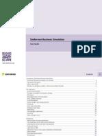 Simformer business simulation UserGuide
