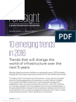 Foresight Emerging Trends 2016