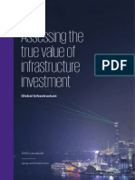Value of Infrastructure Investment