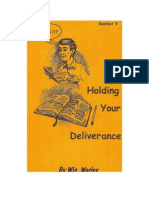 Holding Your Deliverance_Win Worley