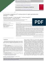 Comparison of Systems in GI Upper Bleeding