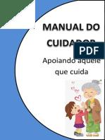 01 - MANUAL DO CUIDADOR - Apoiando Aquele Que Cuida 2014 UFSCar