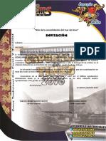 Bases IV Concurso de Caporales y Tinku - Corazon de Leon 2016 - La Oroya