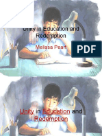 Unity in Education and Redemption.ppt