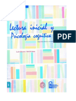 Lectura Inicial y Psicologia Cognitiva