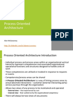 Process Oriented Architecture