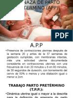 AMENAZA DE PARTO PRETERMINO (APP).pptx DIAPOS.pptx