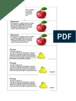 Credenciales de Alimentos