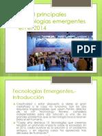 2 Tecnologias Emergentes 2014