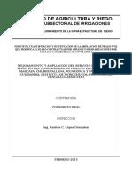 Solicitud Ampliacion Plazo Nº 01- Los Morochucos