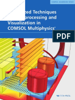 COMSOL HANDBOOK SERIES Specialized Techniques for Postprocessing and Visualization