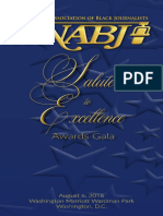2016 NABJ Salute to Excellence Program