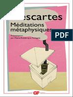 Les Méditations métaphysiques de  de René Descartes