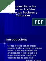 Aspectos Sociales Culturales