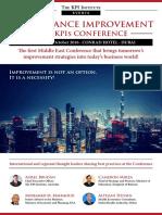 PI-KPI Conference Dubai
