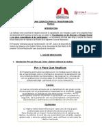 Guía de Replicas para Programa Liderazgo 2016