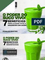 o Poder Do Suco Verde