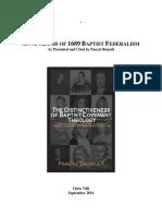 Analisis Del Federalismo Bautista por Pascal Denault