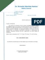 Certiifcado Medico 2