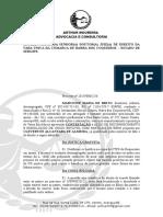 Marcione Maria de Brito x Cleverton Alcantara de Almeida - Contestação