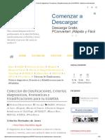 Coleccion de Clasificaciones, Criterios Diagnosticos, Pronosticos y Estadificaciones Para Tu GUARDIA - Medicina Mnemotecnias