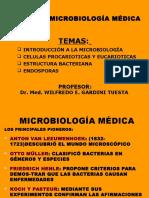 1-Introduccion a La Microbiologia - Hasta Endospora - 2013-II