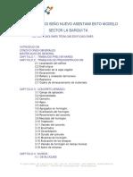 Especificaciones Tecnicas Edificaciones La Nueva Barquita