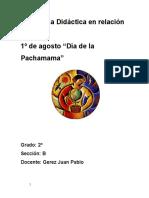 Clases Dia de La Pachamama