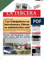 Diario La Tercera 18.08.2016