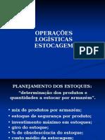 Aula 2 - Operações Logísticas - Estocagem