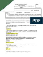 Prueba Semestral 8ºbáSico Forma B 1º Sem. 2014 Version Revisada