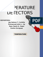 Temperature Detectors