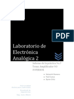 INFORME DE LABORATORIO 7