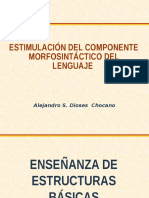 Enseñanza de Estructuras Basicas Del Lenguaje