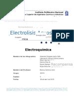 Semirreaacciones-Electrolisis